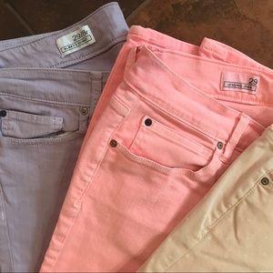 3 Pak Gap1969 Always Skinny & Leggings Jeans EUC